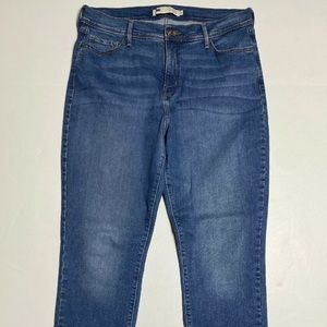 Levis 512 Size 14 Perfectly Slimming Jeans Skinny